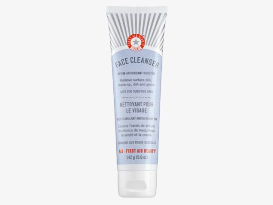 FIRST AID BEAUTY Pure Skin Face Cleanser.