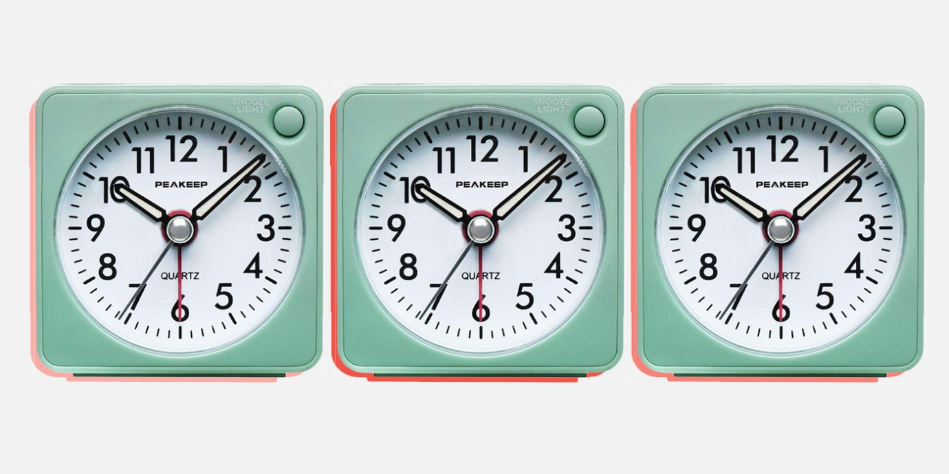 Travel Alarm Clocks That Are So Good You'll Ditch Your Phone.