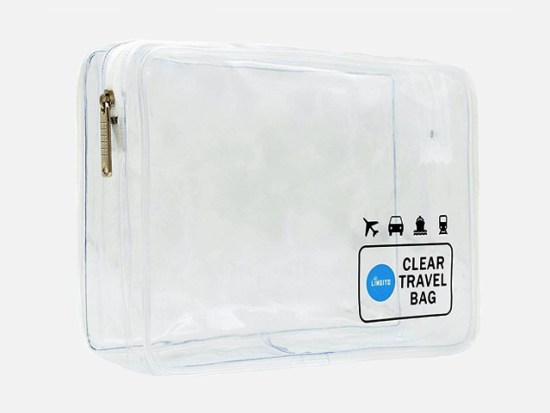 TSA Approved Clear Travel Toiletry Bag.