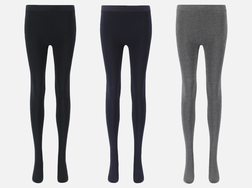 WOMEN HEATTECH EXTRA WARM PILE-LINED TIGHTS.
