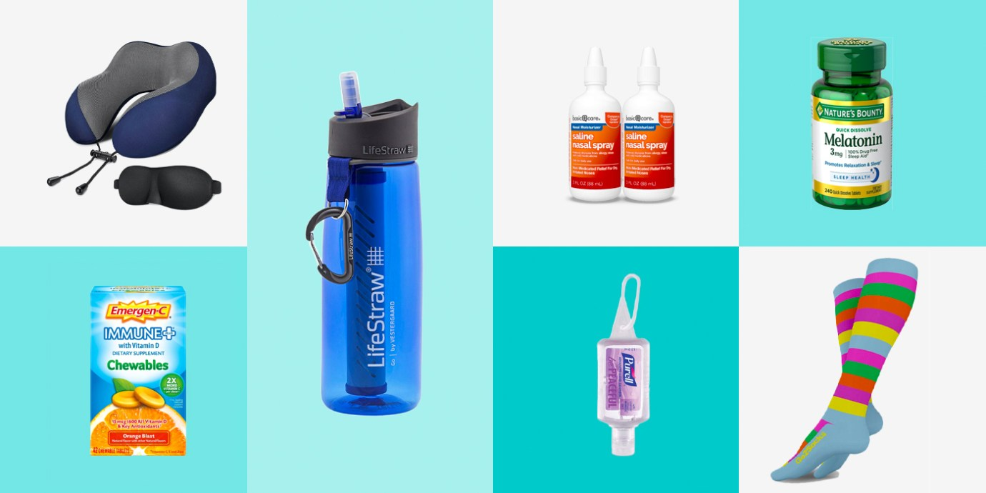 10 Items for Healthy, Germ-Free Travel.