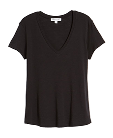 Black T-Shirt by Amour Vert