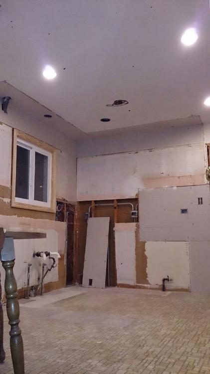 kitchen week 1 progress