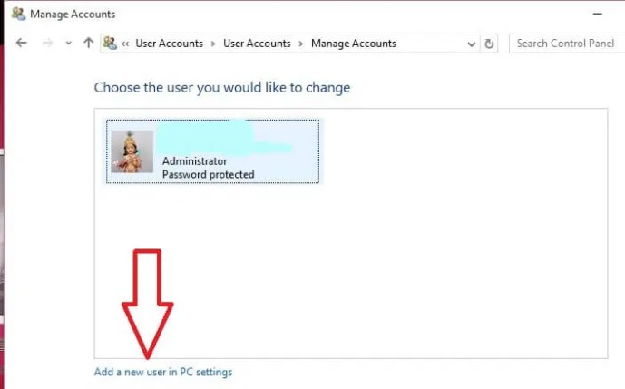 create guest account on windows 10
