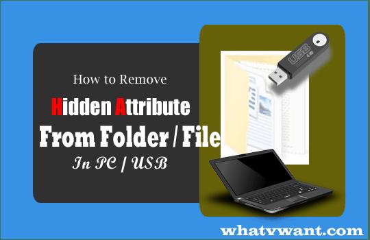 remove hidden attribute