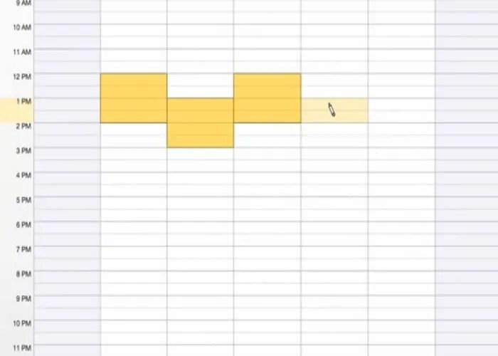 online scheduling tool need to meet