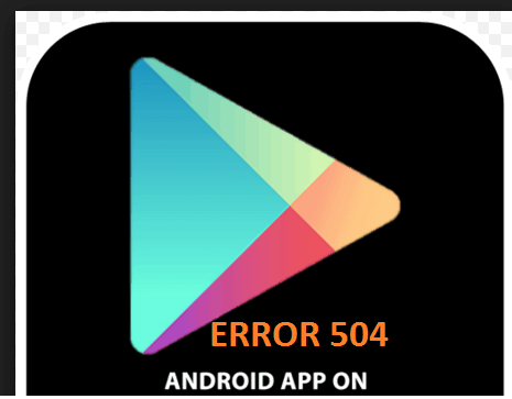 504 error android