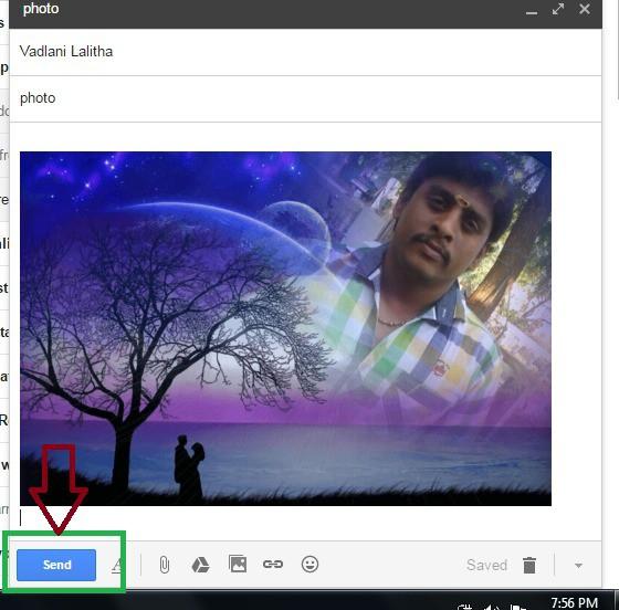 ,gmail sending photos