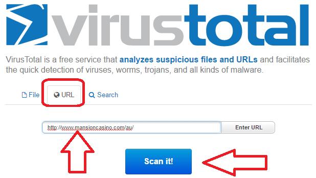 using virustotal