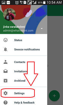 Change Gmail profile picture