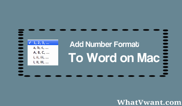 add number format to word