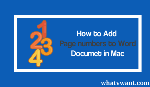 add page number to word