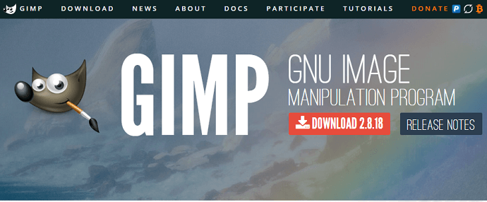 gimp a free photoshop alternative