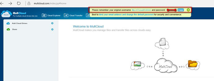 manage multiple cloud storage accounts