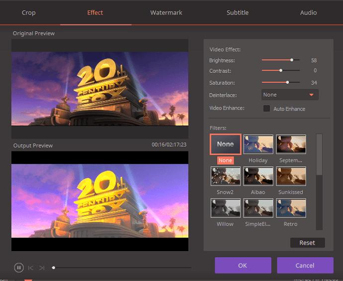 edit video with wondershare video converter ultimate