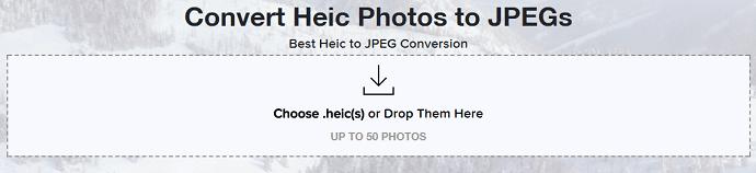 convert HEIC to JPEG