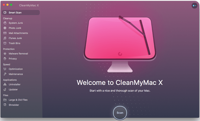 CleanMyMac Smart scan-Intro