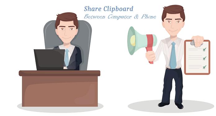 Share clipboard