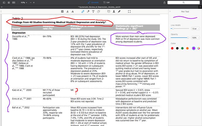 pdfexpert pen tool