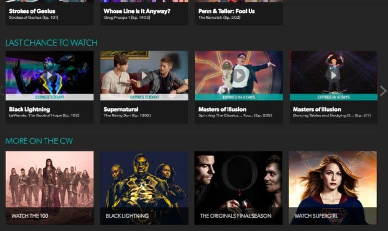5 Best free TV Streaming Sites To Watch TV Shows Online 5