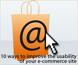 10 ways to improve the usability of your e-commerce website