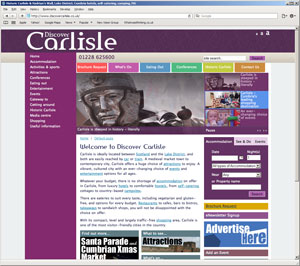 The redesign of Discover Carlisle is live - whatwasithinking.co.uk