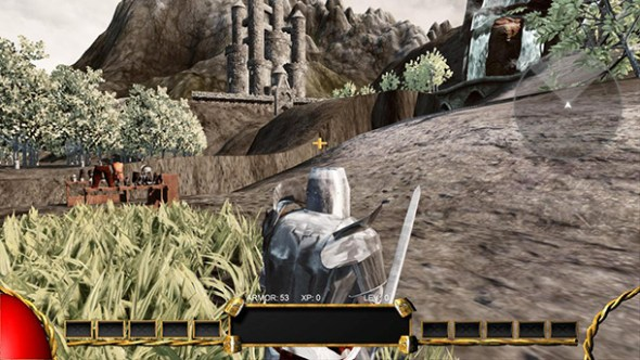 a screenshot of the early development of Fortis Rex - whatwasithinking.co.uk