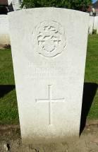 Headstone for Arthur Edward Bointon