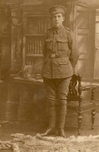 James Fidell Quemby in military uniform
