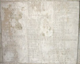 Memorial Panel for Fred Coles