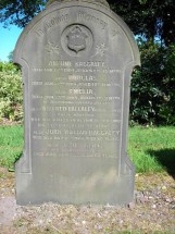 Baggaley Family Gravestone