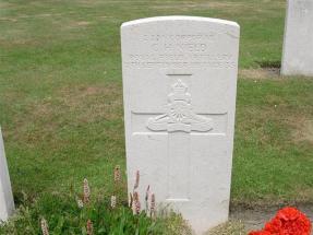 Headstone for Charles Henry Nield