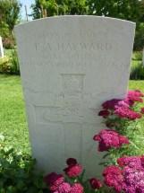 Headstone for Edward Arthur Hayward