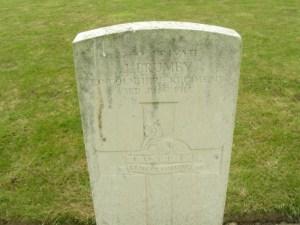 Headstone for John Brumby