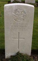 Headstone for Walter Hopwood