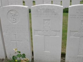 Headstone for William Broome