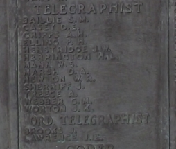 Memorial Plaque for Paul Harold Elling