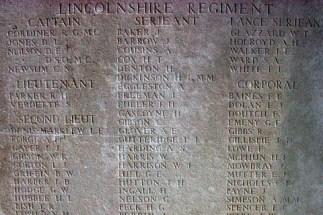 Memorial panel for Walter John Harrison