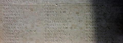 Panel for Joseph Revington
