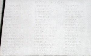 Thomas Sharp - Loos Memorial