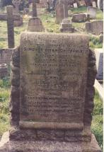 Headstone for Simon Kidman Childerley and others
