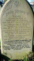 Burgess Family Headstone