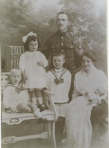 Ernest Victor Page and family