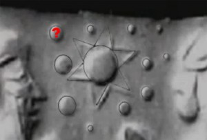 planet x nibiru in archaeological stone tablet