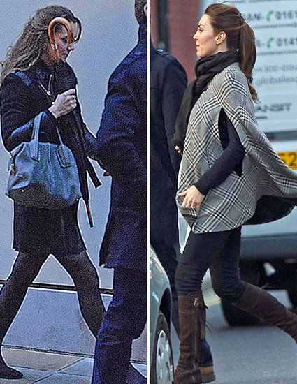 Baby Cambridge Bump : Kate's Bump Spotted Out & About