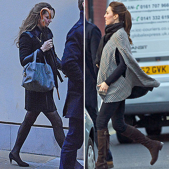 Kate and Baby Cambridge out and about in London this past week