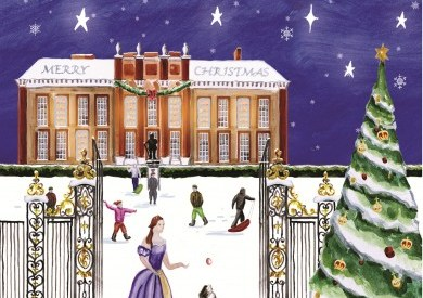 kate cambridge christmas cards
