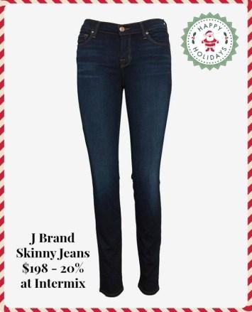 j brand skinny intermix