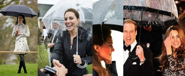 Princess Kate Umbrella Choices