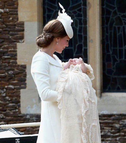 Princess Charlotte Elizabeth Diana is christened at St. Mary Magdalene Church in Sandringham
